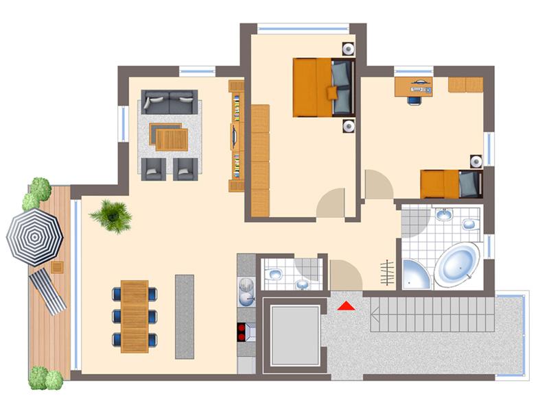 wohnung streichen preis pro qm 145751 neuesten ideen f r. Black Bedroom Furniture Sets. Home Design Ideas