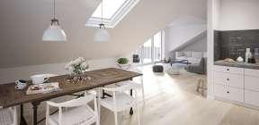 2-Zimmer Dachgeschosswohnung in Mehrfamilienhaus, Haus 9
