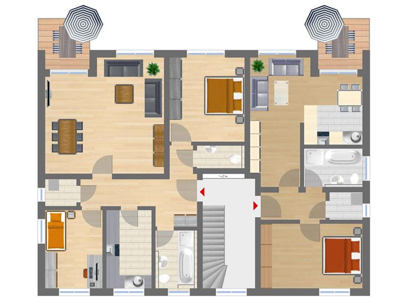 Grundriss wohnung 3 zimmer  Angebote | Wohnungen - Domizil-Immobilien | Herrsching